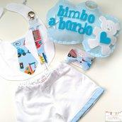 1 set regalo nascita completo bimbo