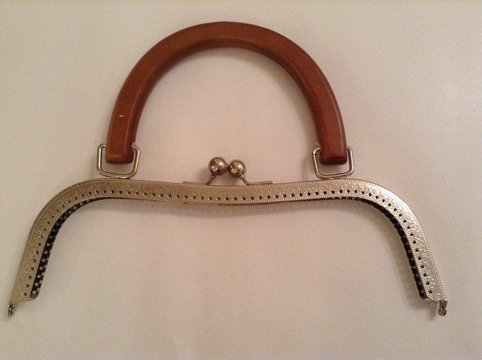 clic clac 26 cm con manico in legno