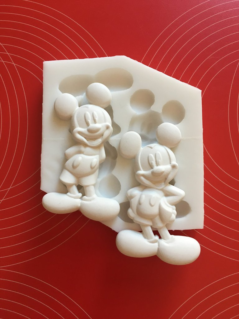 Stampo silicone Mickey Mouse cm.7