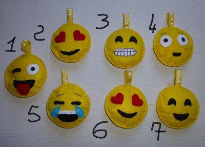 Portachiavi o decorazione emoticon