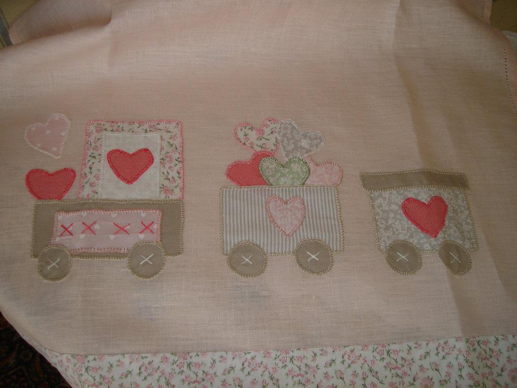 Asciugamani lino neonati