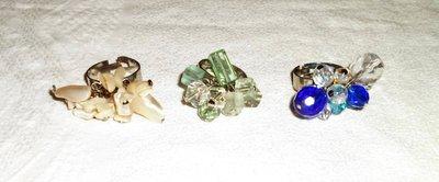 Anello charms vari materiali