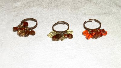 Anello charms piccolo