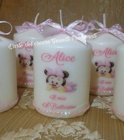 18 candele e 18 scatoline porta confetti personalizzate su richiesta