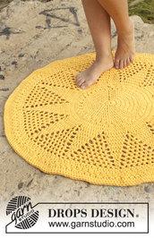 Tappeto cotone,fatto a mano, tappeto all'uncinetto