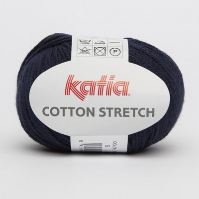 filato cotton STRETCH per costumi cod 5 blu marine