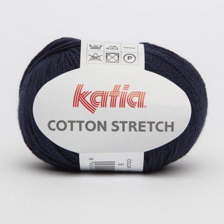 filato cotton STRETCH per costumi cod 5 blu marine