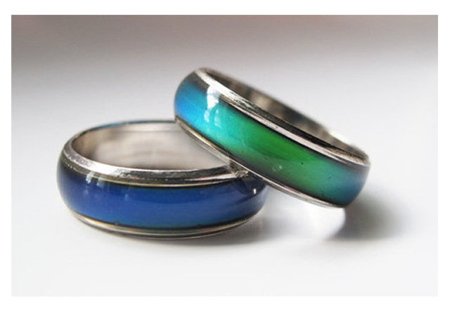 ANELLO DELL'UMORE - CAMBIA COLORE IN BASE ALL'UMORE varie misure