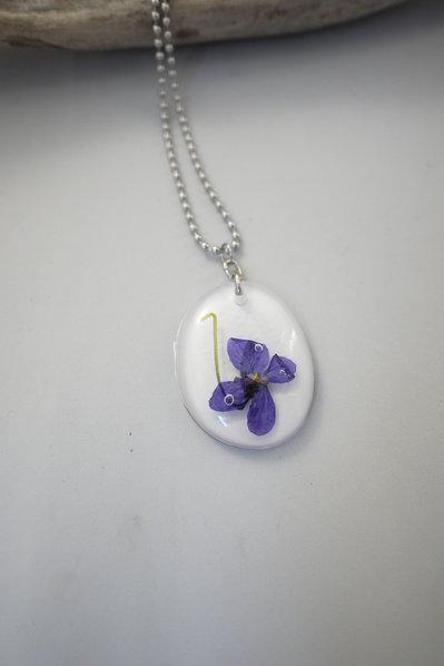 Natura in Resina - Violetta Mammola -