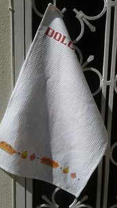 asciugapiatti nido d'ape dolcetti