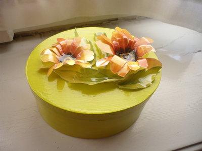 scatola con fiori sospesi