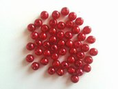 PERLE 8MM. ROSSO