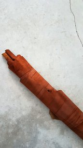 Pack di 2 pelli di camoscio leggerissime, perlate con effetto plissé A396