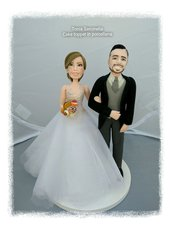 Cake topper sweet love