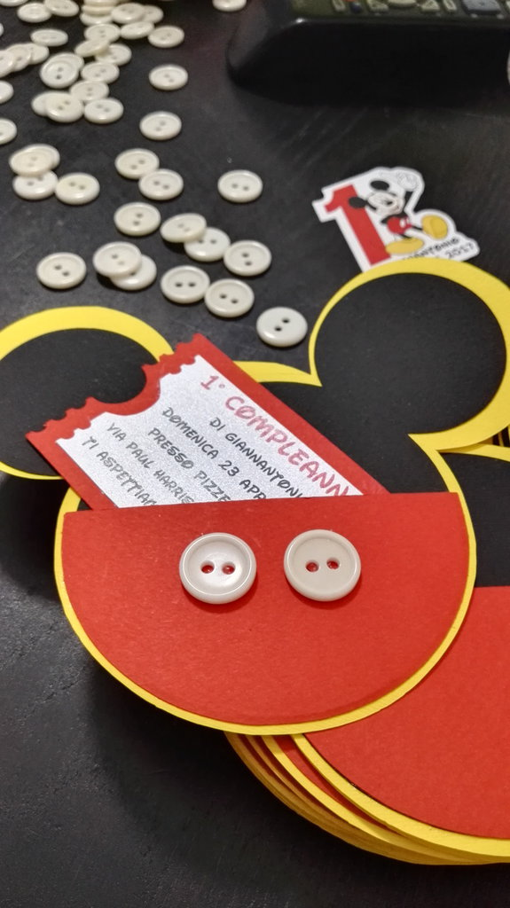 Invito Minnie topolino