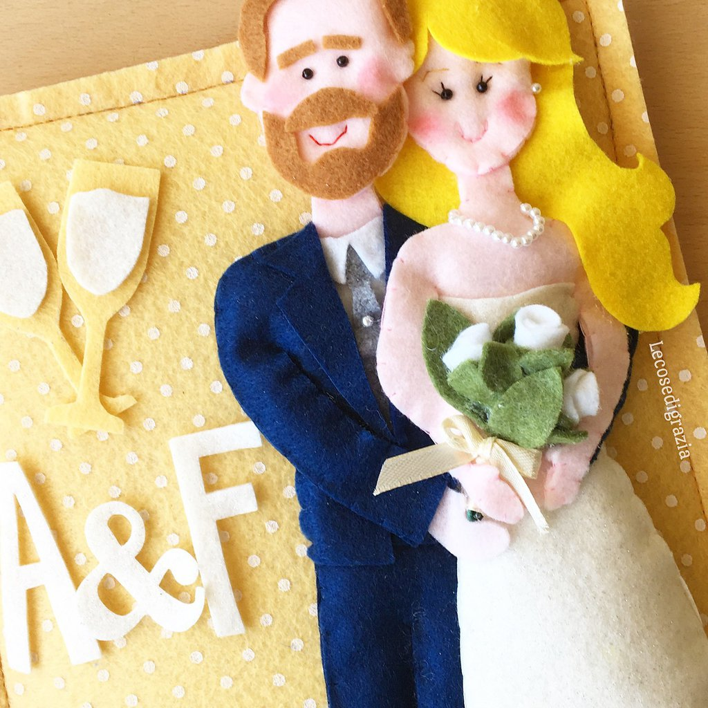 Quadretto sposi personalizzato