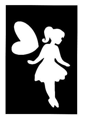 Stencil per Tattoo Glitter 01