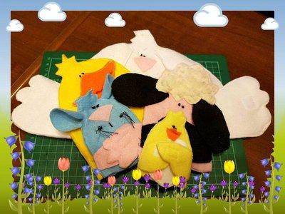 La Pasqua e i burattini