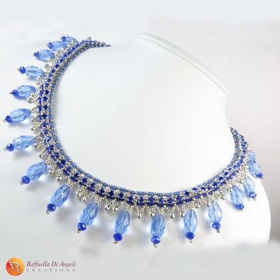 Collana perline cristallo Lucia 01