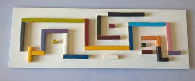 Quadro decorazione da parete cornici riciclo creativo