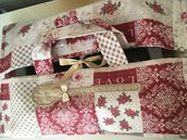Porta teglia/torta patchwork