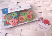 """SPECIALE SCRAPBOOKING! LOTTO 30 bottoni in resina """"kids"""" (cod.new)"""