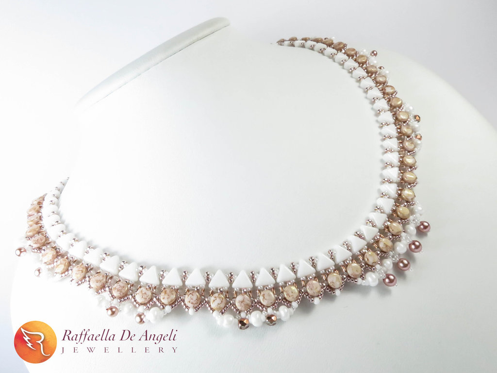Collana perline vetro Morgana 04