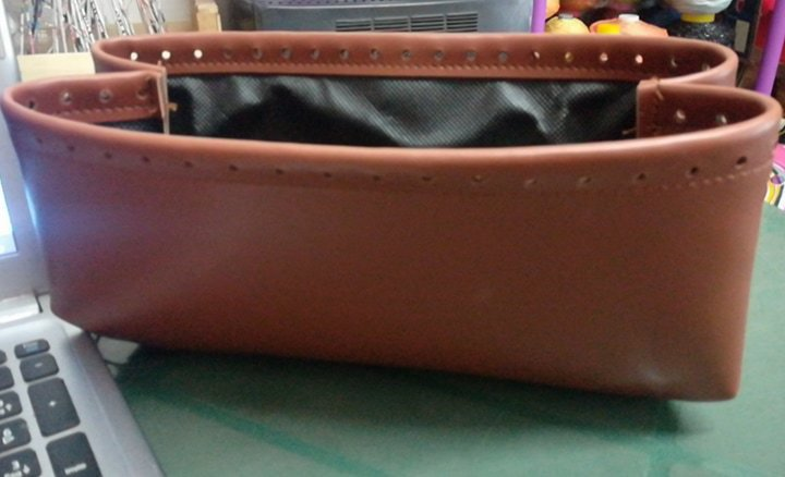 fondo vaschetta per borse