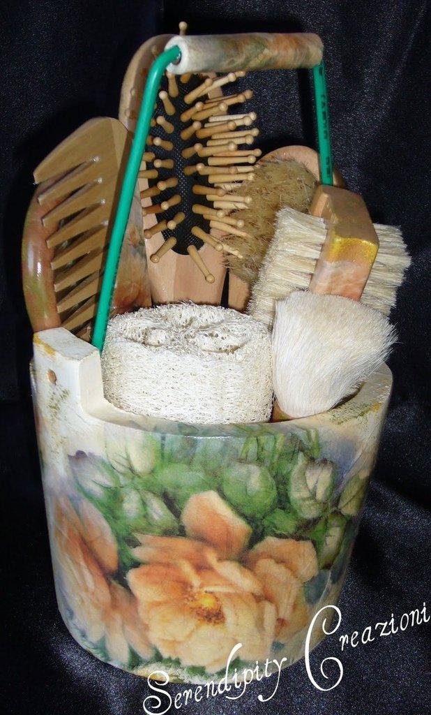 Mastellino in legno - Idea regalo