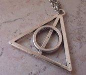 Collana Doni della Morte Harry Potter (Argento)