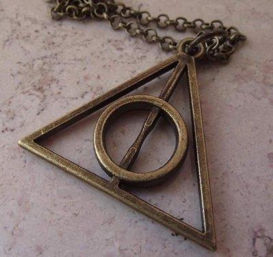Collana Doni della Morte Harry Potter (Bronzo)
