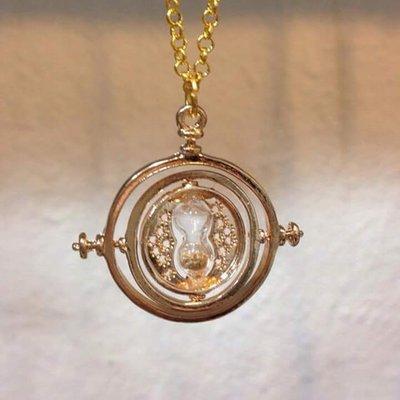 Collana Mini Giratempo Hermione Granger Harry Potter (Oro)