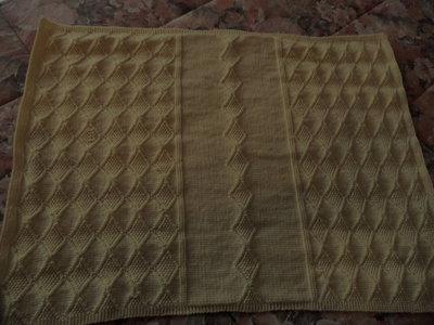 Copertina neonato lana merino 100% irrestringibile