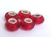 5 Perle a foro largo Crystal PFL26