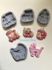 Stampini per nascita in silicone