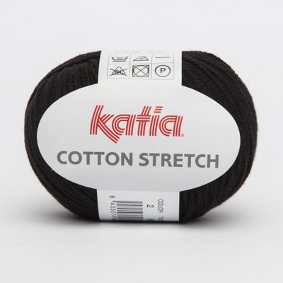 filato cotton STRETCH per costumi cod 2 nero
