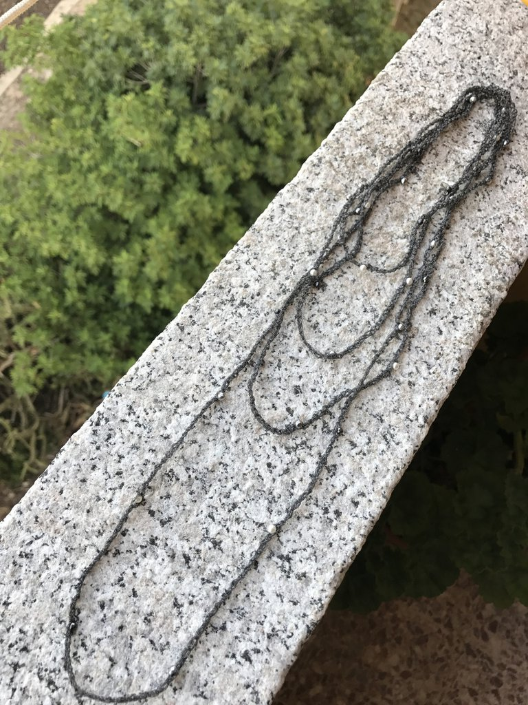 Summer Crochet Necklace