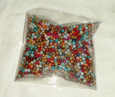 Perline tonde 4mm