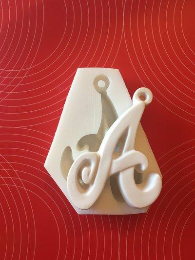 Stampo silicone lettere alfabeto