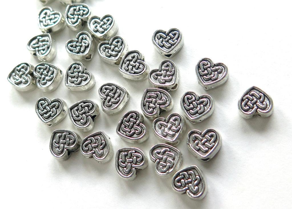 10 Distanziatori cuore DIS 6