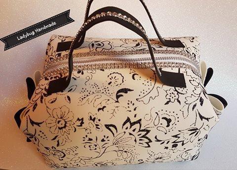 Pochette beauty case in fommy renkalik