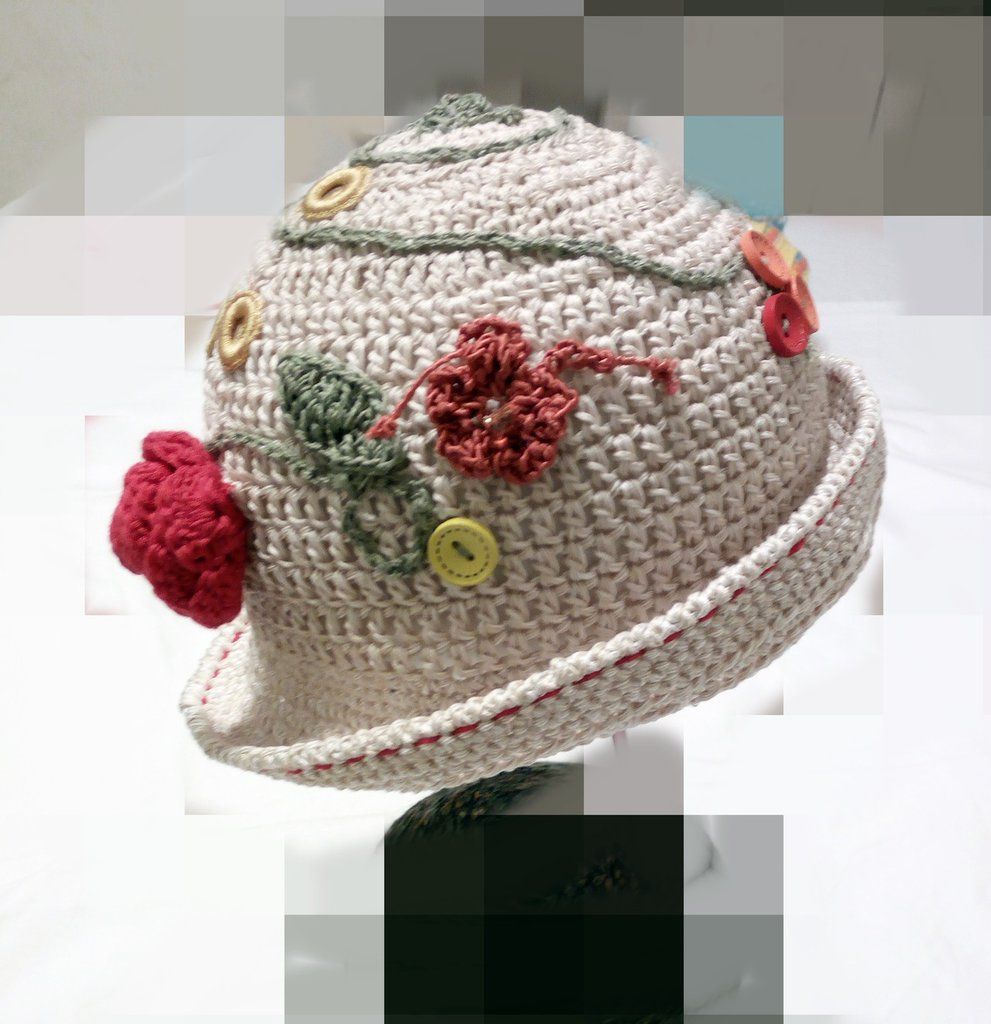 cappellino a uncinetto - Bambini - Abbigliamento - di Le ...