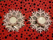 Porta candeline in feltro