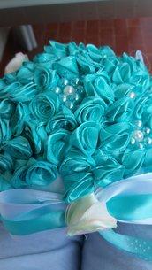 Bouquet - fiori - matrimonio - damigella - comunioni - venticinquesimi