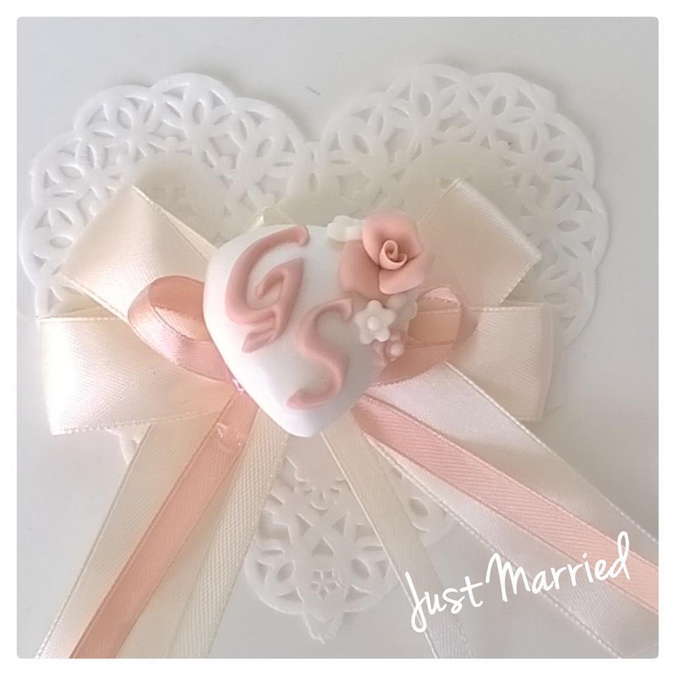 Segnaposto Matrimonio Rosa Cipria.Segnaposto Per Matrimonio Battesimo Confetti Decorati Rosa