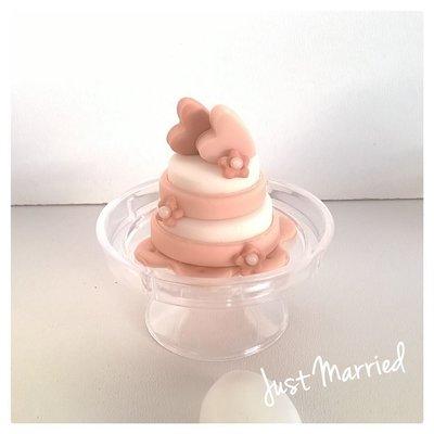 Minicake segnaposto, matrimonio, battesimo, prima comunione