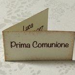 Bigliettini Prima Comunione confetti