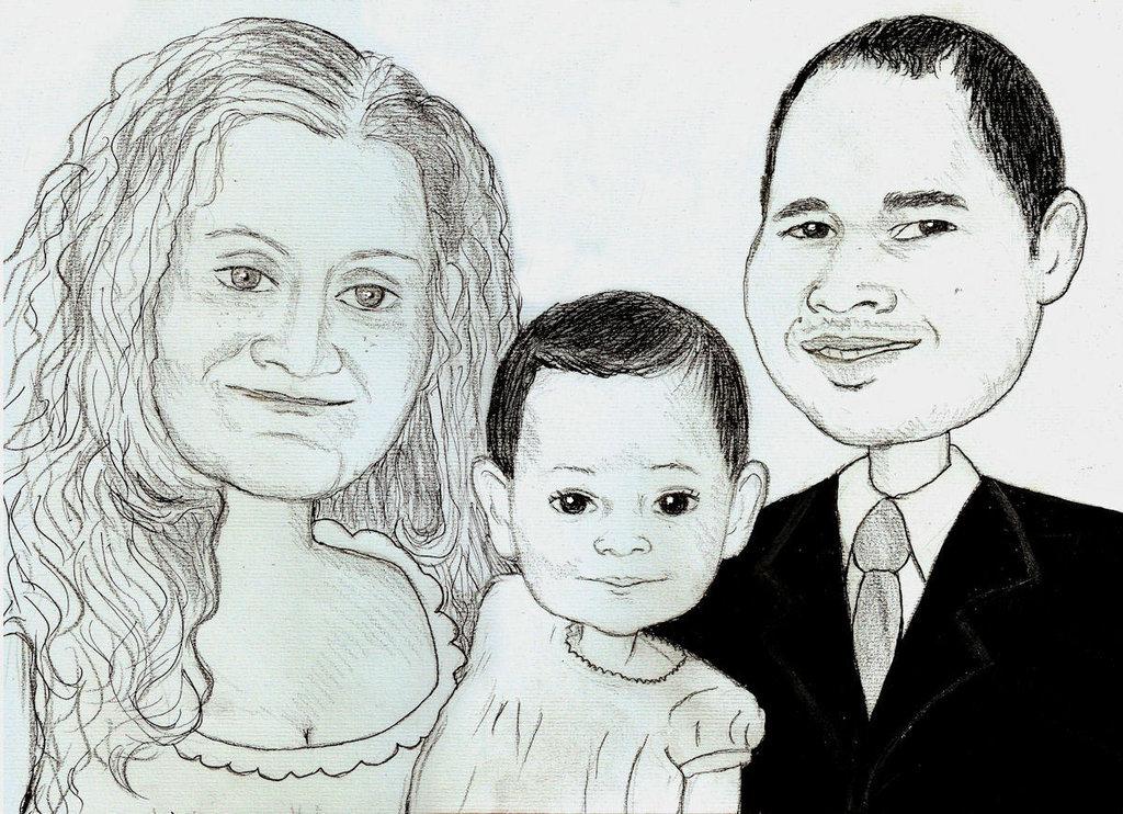 caricature sposi partecipazioni
