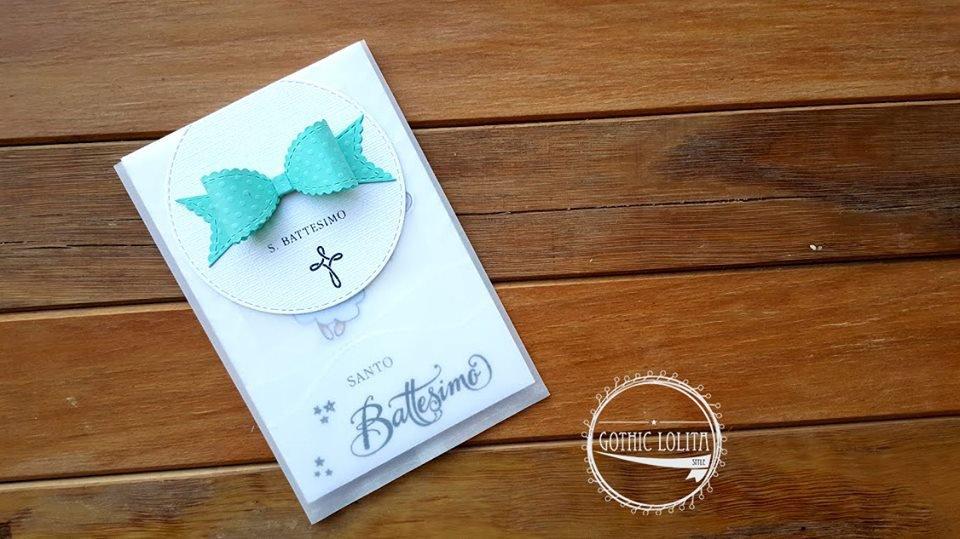 Bomboniera - Invito Battesimo