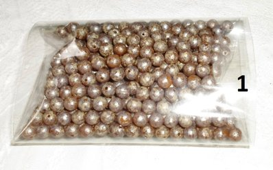 Perline tonde di resina 6mm